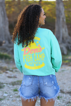 Load image into Gallery viewer, Don's Paradise Long Sleeve - Yellow/Coral - Mint