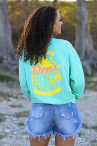 Don's Paradise Long Sleeve - Yellow/Coral - Mint