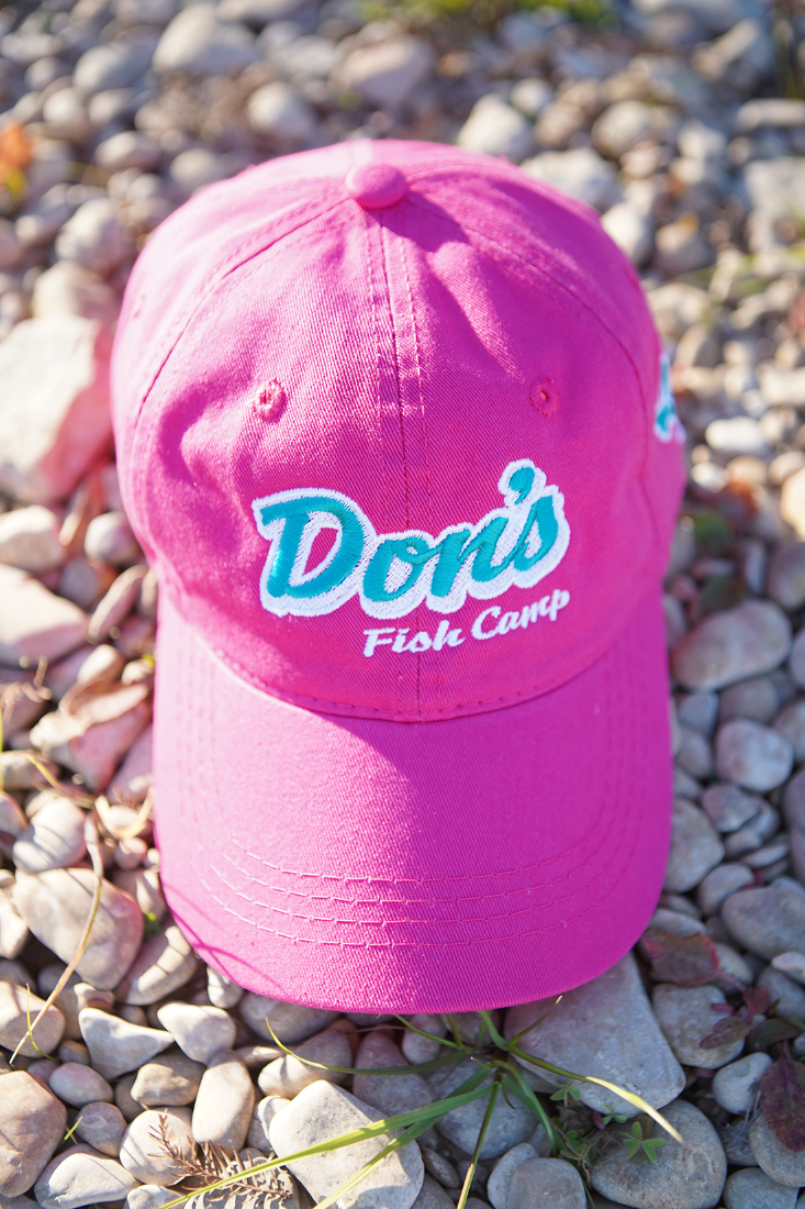 Don's Dad Hat - Mint / White - Pink