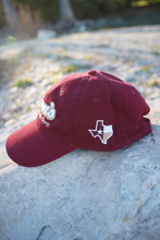 Load image into Gallery viewer, Don's Dad Hat - Gold/White - Maroon