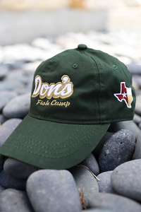 Don's Dad Hat - White / Gold- Green