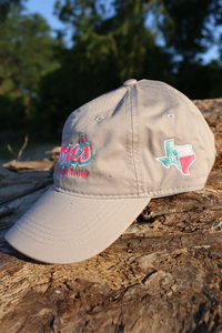 Don's Dad Hat - Mint/Pink - Gray