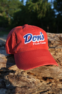Don's Dad Hat - Royal Blue/ White - Red