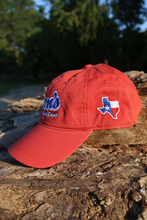 Load image into Gallery viewer, Don's Dad Hat - Royal Blue / White - Red