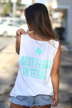 Load image into Gallery viewer, Don's Texas Tank - Pink/Mint - White