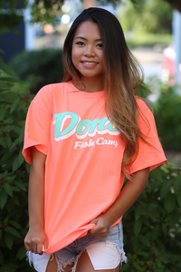 Don's Classic Short Sleeve - Mint/White - Coral