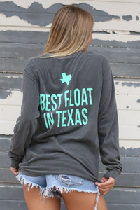 Don's Classic Long Sleeve - Pink/Mint - Charcoal