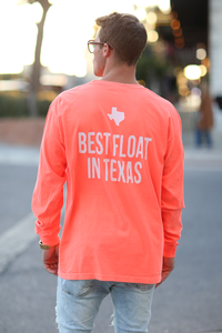 Don's Classic Long Sleeve - Mint/White - Coral