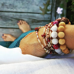 How to Wrap your Wrap Bracelet and Stack with Style
