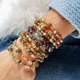 Beaded wrap bracelets by impromptu jewelry