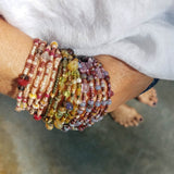 Multi Wrap Beaded Bracelet Converts to a Necklace