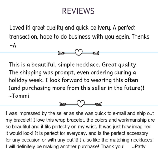 Reviews for impromptu jewelry