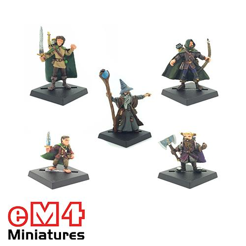 Pre-Painted Miniatures