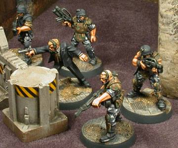 em4 miniatuers combat zone future skirmish metal miniatures