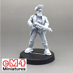 Male Rebel Cap Assault Riffle