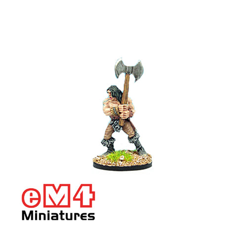 Infantry Hero Double Bladed Axe 0111
