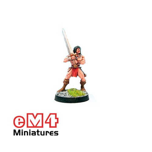 Infantry Hero 2 Handed Sword 0113