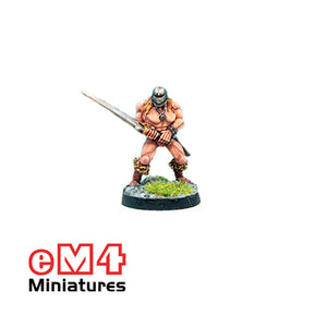 Infantry Hero 2 Handed Sword Closed Helm 0116