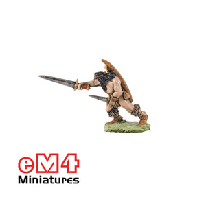 Infantry Scout With Sword Dagger & Bow 0199