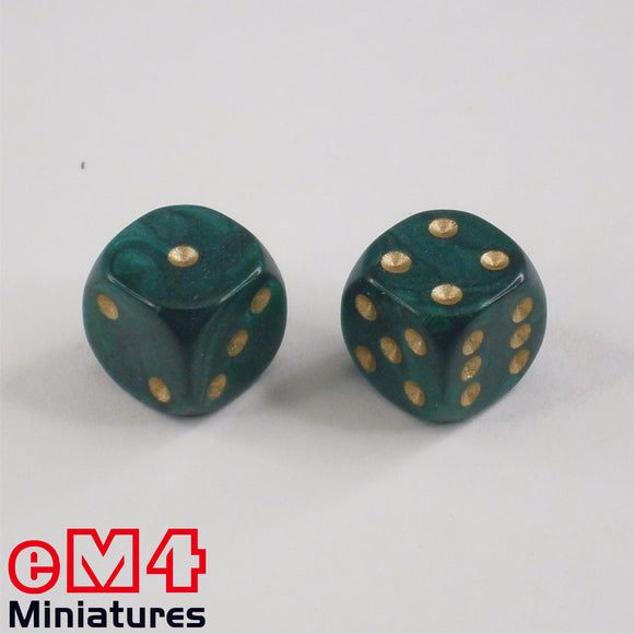 22mm Pearl-Green X 5