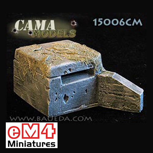 Medium Bunker HMG VF4A x 1