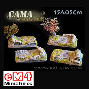 4 x Medium/Light Artillery Bases