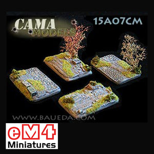 4 x Vehicle Scenic Bases