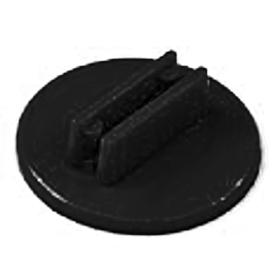 20mm Round Card Stands x 20 - Black