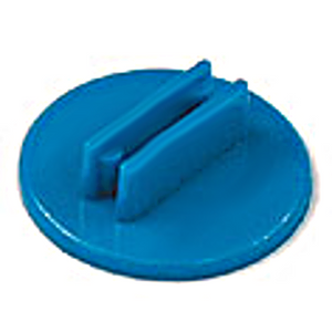 20mm Round Card Stands x 20 - Blue