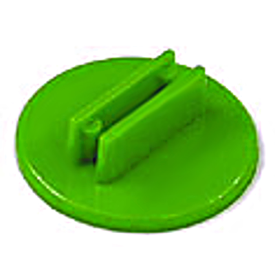 20mm Round Card Stands x 20 - Green