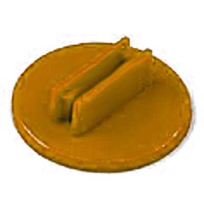 20mm Round Card Stands x 20  - Orange