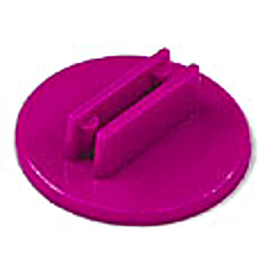 20mm Round Card Stands x 20  - Purple