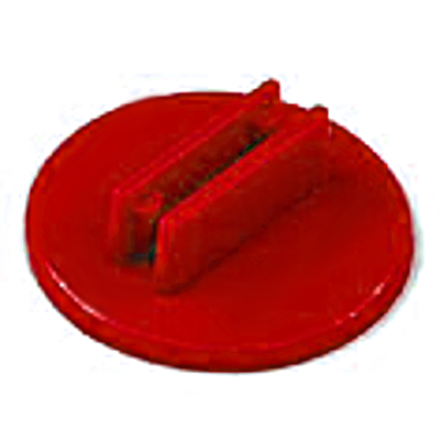 20mm Round Card Stands x 20 - Red