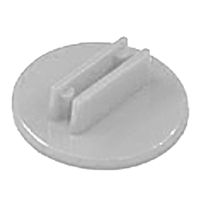 20mm Round Card Stands x 20 - White