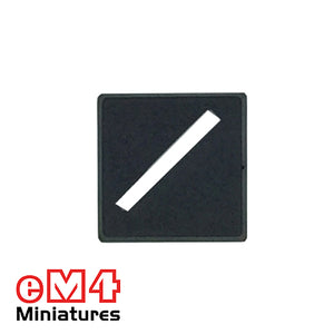 20mm Square Slotted Base x 20