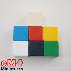 22mm Square Corner Blanks - Opaque