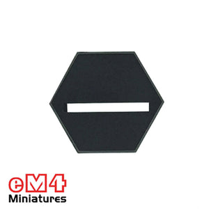 25mm Hexagonal Slotted Base x 20