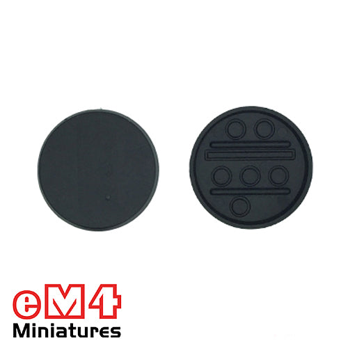 30mm Round Multipurpose base x 10