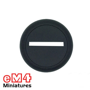 30mm Round Slotted Lipped Base x 10