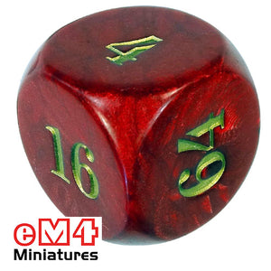 Doubling dice 36mm
