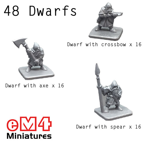 Dwarfs Assorted x 48