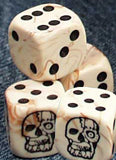 Cybo Skull Dice Booster set