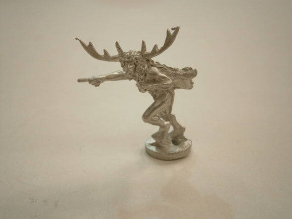 Barbarian with Antlers