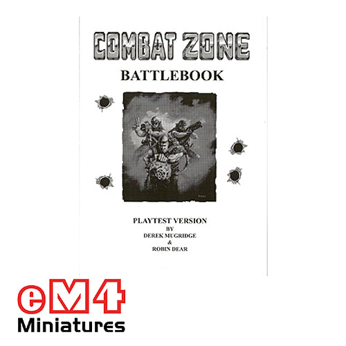 Combat Zone Battle Book - Printed Copy