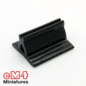 20 x 18mm Card Stands x 20 Various Colours-Black