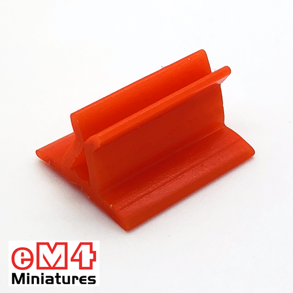 20 x 18mm Card Stands x 20 Various Colours-Orange