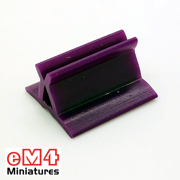 20 x 18mm Card Stands x 20 Various Colours-Purple