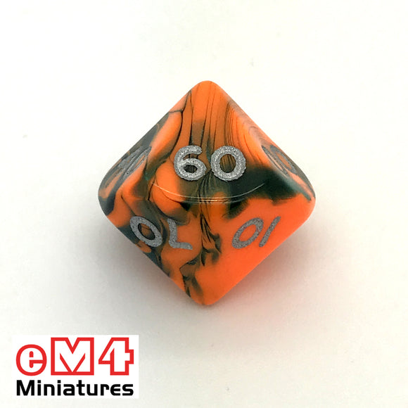 Toxic Chemical D10 (00-90) Poly Dice