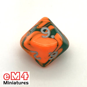 Toxic Chemical D10 (0-9) Poly Dice