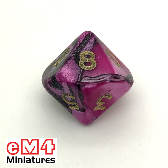 Toxic Fallout D10 (0-9) Poly Dice